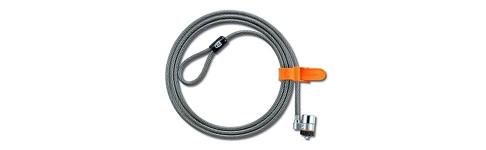 Cable de seguridad MicroSaver con llave para ordenadores portátiles
