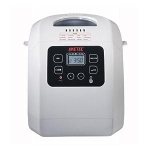 IMETEC BM1000 Máquina de Pan, 550 W, Blanco: Amazon.es: Hogar