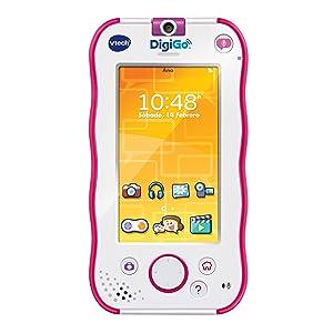 Amazon.es: VTech - DigiGo, Tablet Educativo para niños, Color Rosa (3480-168857) [versión española actualizada]