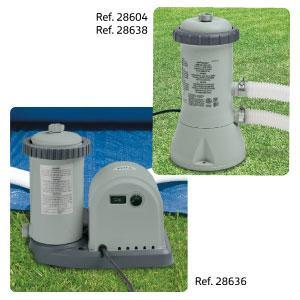 Intex 28636 - Depuradora de cartucho tipo A 5.678 litros/hora ...