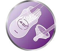 Philips Avent SCD290/01 - Set Regalo gama Natural para recién nacidos, 2 biberones 125 ml, 2 biberones 260 ml, 1 escobilla, 1 chupete, color ...