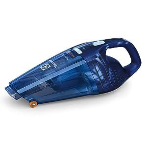 Electrolux Aspirador de Mano Rápido ZB5104WDB con batería de 4.8V y función líquidos y sólidos, 0.5 litros, Azul: Amazon.es: Hogar