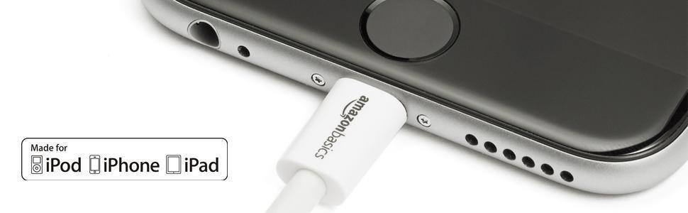 AmazonBasics - Cable de conexión USB-A a Lightning ...