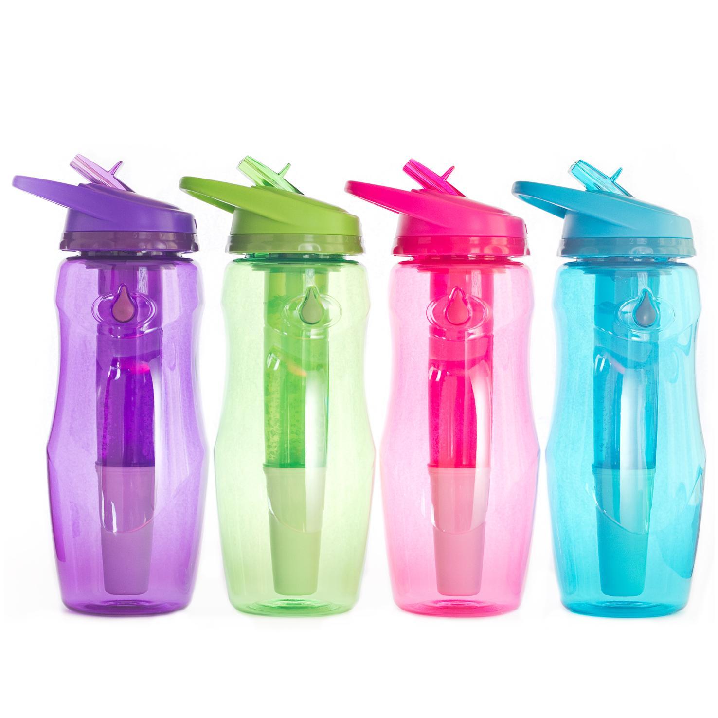 BBO botellas Irisana filtra enfría agua fresca limpia filtro carbono titán