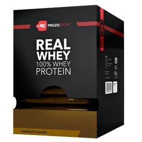 Prozis 100% Pure Real Whey Protein Powder 10x25g - Complemento Sabor Tarta de Manzana Repleto con BCAA para un Máximo Crecimiento y una Máxima ...