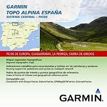 Garmin Topo Alpina España - Mapas para GPS, cobertura