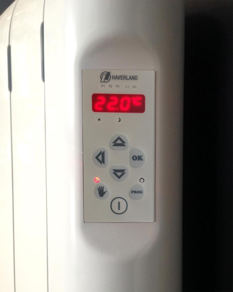 Haverland rc12e emisor t rmico digital fluido con - Emisor termico de fluido ...
