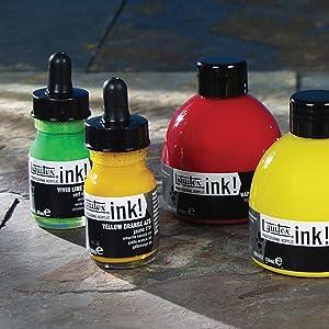 Liquitex, tintas, pintura acrílica