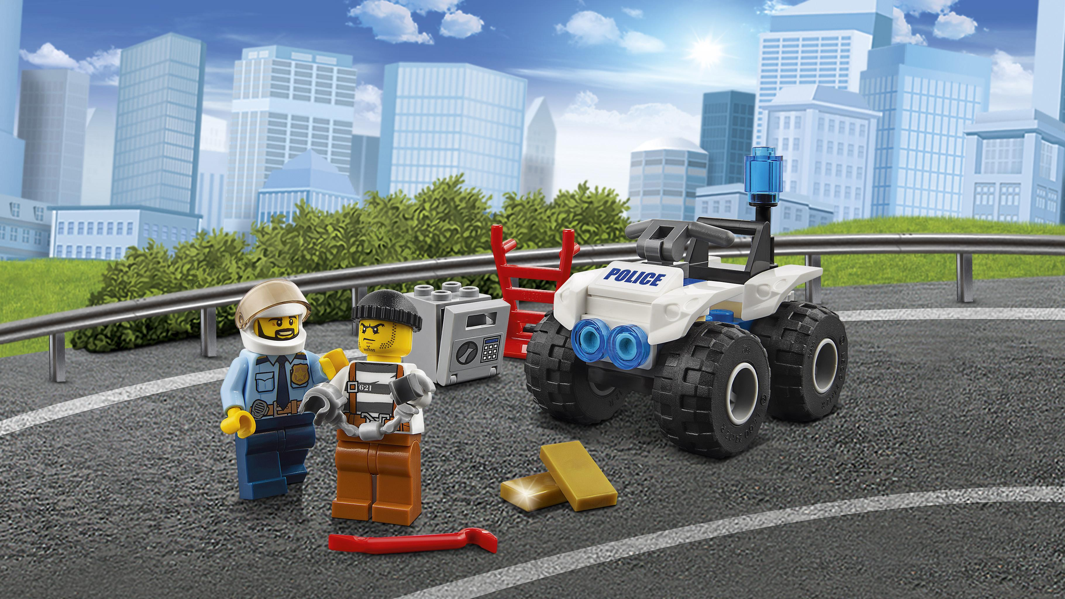 LEGO City - Quad de arresto (60135): Amazon.es: Juguetes y