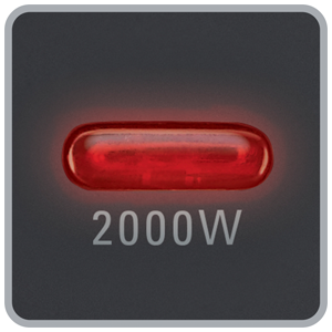 Rowenta Classic 2000 SO2210 Indicador luminoso