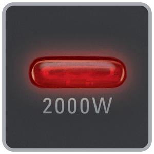 Rowenta Classic 2000 SO2210 Indicador luminoso