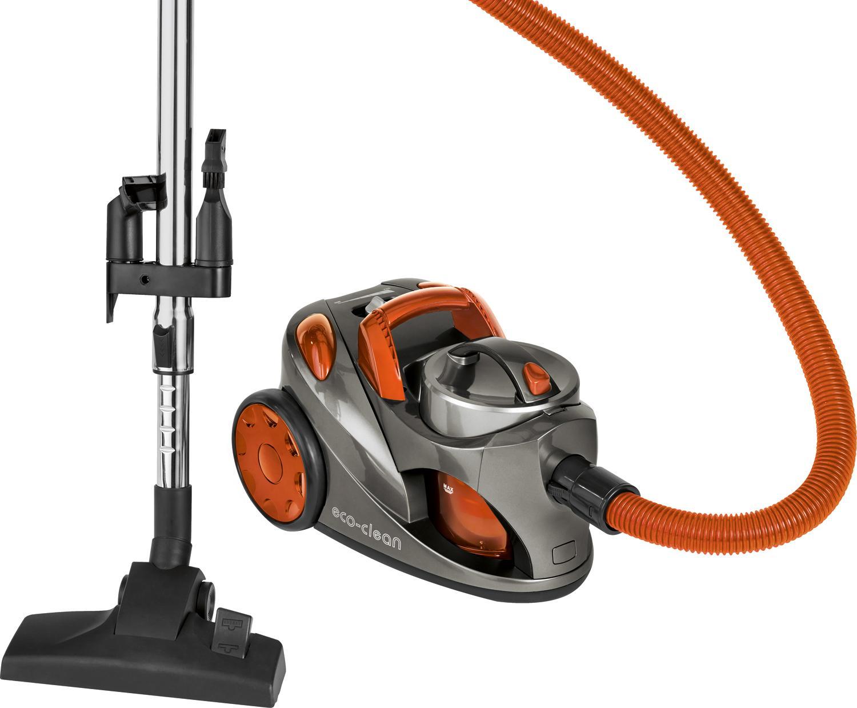 Clatronic BS 1294 Aspiradora de trineo sin bolsa, eficiencia energética A, 700 W, 76 Decibelios, Gris y naranja: Amazon.es: Hogar