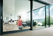 aspirar limpiar ventanas