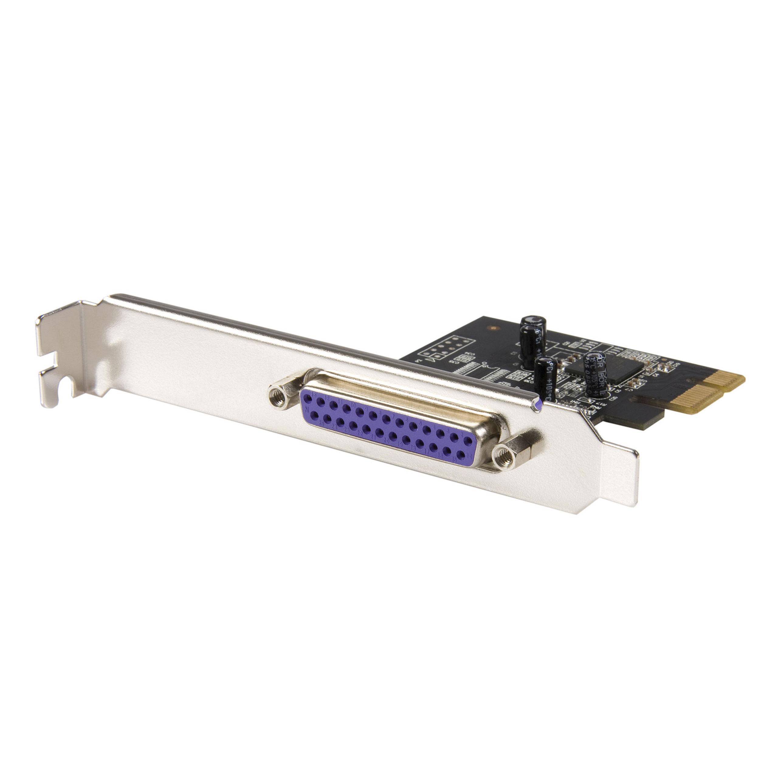 StarTech.com PEX1P - Tarjeta PCI-Express Paralelo de 1 Puerto ...