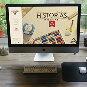 Aprende a utilizar tu máquina en la web Historias Hiladas de Alfa