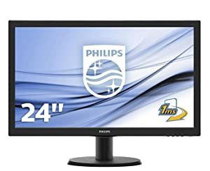 Philips 243V5LHAB/00 - Monitor de 24