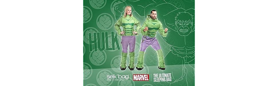 Saco de dormir The Incredible Hulk by Selk´bag