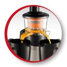 Moulinex Infiny Juice ZU255B jarras extraibles y fáciles de limpiar