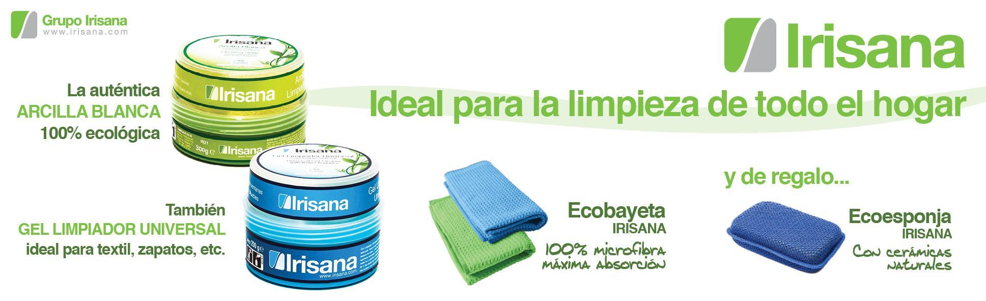 Set DE Limpieza ECOLÓGICA IRISANA para EL HOGAR.: Amazon.es ...