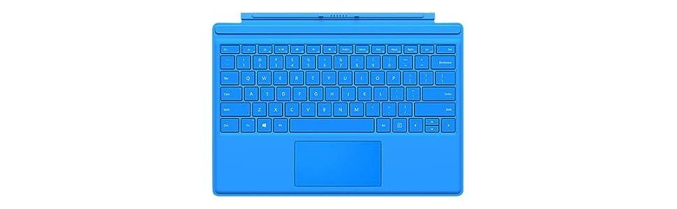 Microsoft QC7-00056 - Funda con teclado para Surface Pro 4 ...