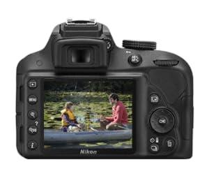 Nikon D3300 - Cámara réflex digital de 24.2 Mp (pantalla 3.2 ...