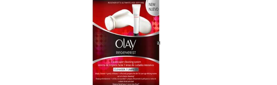 Olay Regenerist 3 Áreas - Sistema de limpieza facial profesional ...