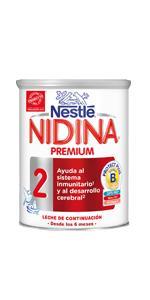 nidina, Nestle Nidina, Nidina 2, Nutricion infantil, leche infantil, leche en ...