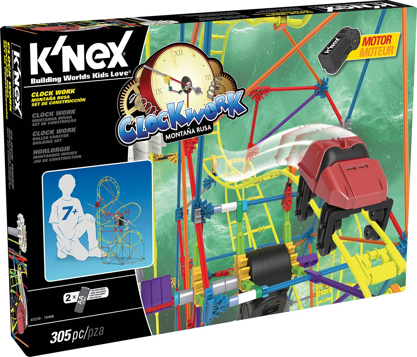 Knex - Montaña Rusa, 305 Piezas 41210: Amazon.es: Juguetes y juegos