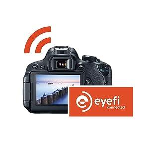 Eye-Fi MobiE - Tarjeta de Memoria SecureDigital de 32 GB (Clase 10, SDHC), Naranja