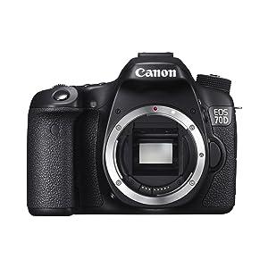 Canon EOS 70D - Cámara réflex digital de 20.2 Mp (pantalla