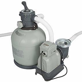Los sistemas de mantenimiento Intex combinan la facilidad de manejo con el rendimiento, proporcionando un óptimo sistema de limpieza del agua.