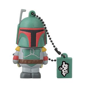 Llave USB 8 GB Boba Fett - Memoria Flash Drive 2.0 Original Star Wars, Tribe FD007403