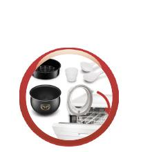 Maxichef Advanced MK8121. Accesorios aptos para lavavajillas