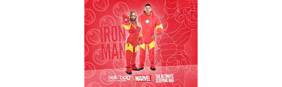Saco de dormir Iron Man by Selk´bag