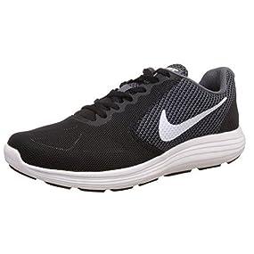 Nike Revolution 3, Zapatillas de Running Hombre, Rojo/Blanco/Negro (Unvrsty Rd/Mtllc Slvr-Blk-Whit), 40 1/2 EU: Amazon.es: Zapatos y complementos