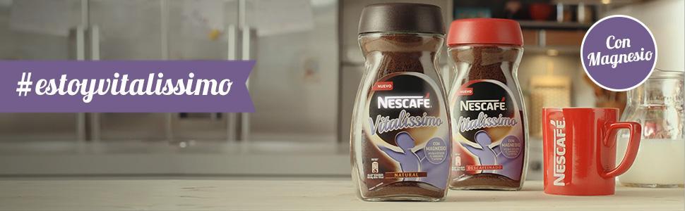 Nescafé, Nescafé Vitalissimo, Café, Café soluble, magnesio, Café descafeinado, Café