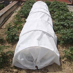 tunel de cultivo, biotop, material riego