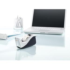Dispensador de diseño elegante para dar un toque personal a tu escritorio