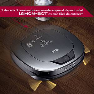 LG VSR9640PS - Hombot Turbo Serie 12. Robot aspirador, video vigilancia avanzada, color plata metalizado: Amazon.es: Hogar