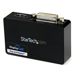 StarTech.com USB32HDDVII - Adaptador Video Externo USB 3.0 a HDMI y DVI