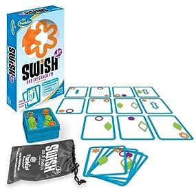 Thinkfun Swish Junior - Juego de Mesa (Contenido en inglés) [Importado de Reino Unido]: Amazon.es: Juguetes y juegos