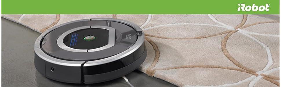 iRobot roomba robot programable aspirador iadapt limpieza alfombra dirt detect