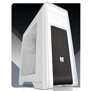 Nox Hummer ZX Zero - NXHUMMERZXZ - Caja PC, ATX, Color Blanco: Nox: Amazon.es: Informática