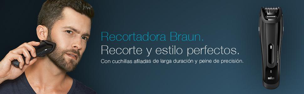 Recortadora Braun BT5070