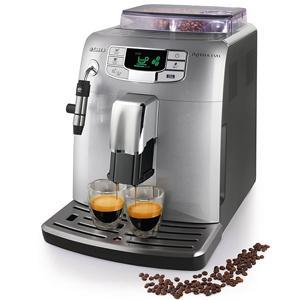 Saeco HD8752/95 Intelia Evo - Cafetera espresso súper automática, con cappuccinatore, color plata