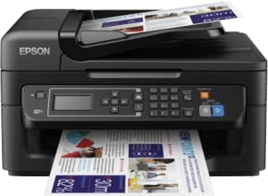 Epson Workforce WF-2630WF - Impresora multifunción de Tinta (WiFi, Pantalla LCD Monocroma retroiluminada de 5,6 cm), Color Negro, Ya Disponible en ...