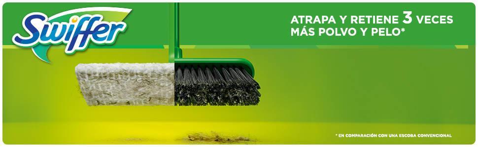 Swiffer kit 1 mopa 8 pa os secos para el suelo amazon - Encerar suelo madera ...