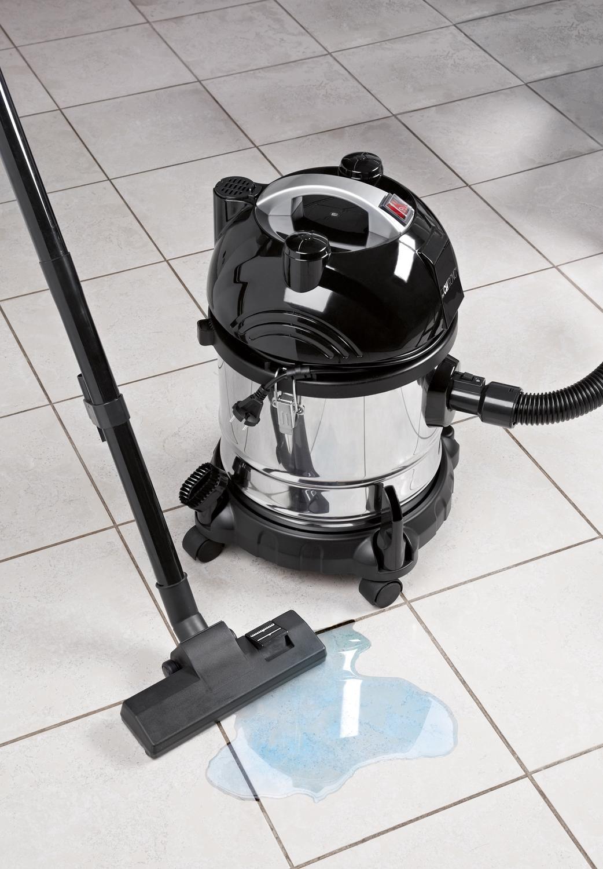 Clatronic BS 1285 Aspiradora en seco y húmedo, 1600 W, 20 litros ...