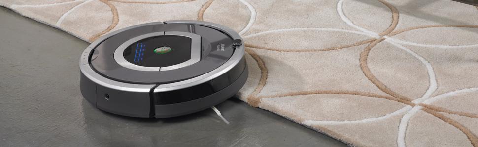 Irobot roomba 782 robot aspirador color gris hogar - Robot aspirador alfombras ...