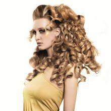 Rizador de pelo/moldeador, 25 mm, rizos fáciles y rápidos.